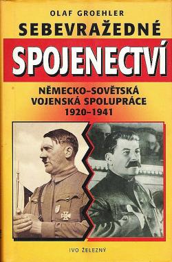 Sebevražedné spojenectví obálka knihy