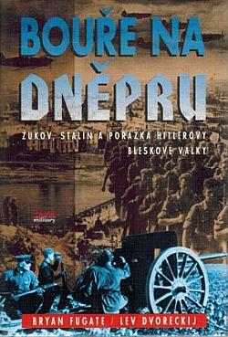 Bouře na Dněpru obálka knihy