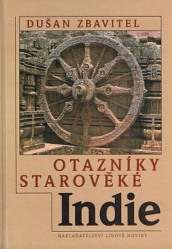 Otazníky starověké Indie obálka knihy