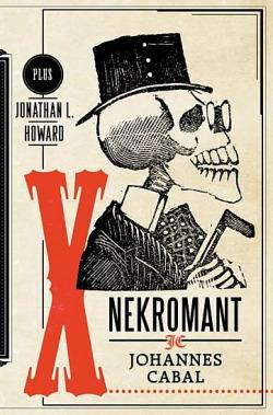 Nekromant Johannes Cabal obálka knihy