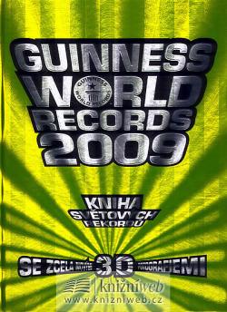 Guinness World Records 2009 – Kniha světových rekordů obálka knihy