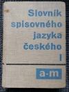 Slovník spisovného jazyka českého   I  A-M