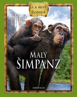 Malý šimpanz obálka knihy