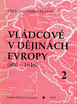 Vládcové v dějinách Evropy 2 obálka knihy