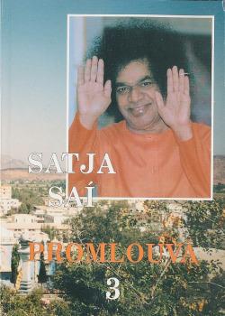 Satja Saí Baba promlouvá 3 obálka knihy