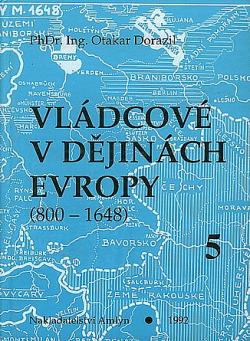 Vládcové v dějinách Evropy 5 obálka knihy