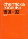 Chemická ročenka 1991/1992