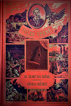 Ze Země na Měsíc / Okolo Měsíce obálka knihy