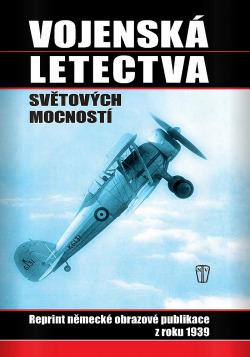 Vojenská letectva světových mocností obálka knihy