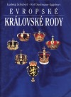 Evropské královské rody obálka knihy