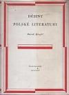 Dějiny polské literatury