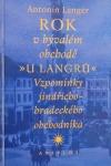 Rok v bývalém obchodě U Langrů obálka knihy