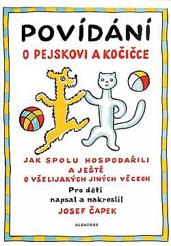 Povídání o pejskovi a kočičce obálka knihy