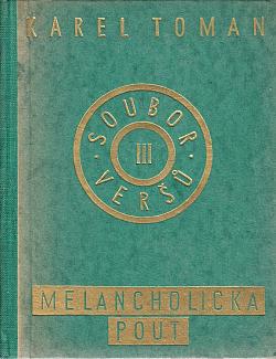 Melancholická pouť obálka knihy