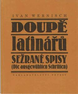 Doupě latinářů obálka knihy