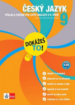 Český jazyk - Výklad a cvičení pro lepší znalosti v 9. třídě obálka knihy