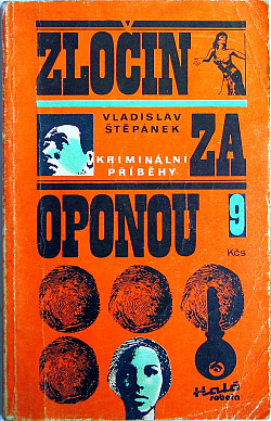 Zločin za oponou obálka knihy