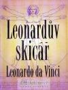 Leonardův skicář obálka knihy