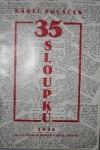 35 sloupků obálka knihy