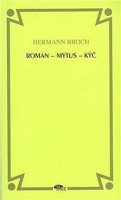 Román – mýtus – kýč obálka knihy