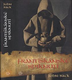 Františkánské spiknutí obálka knihy