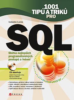 1001 tipů a triků pro SQL obálka knihy