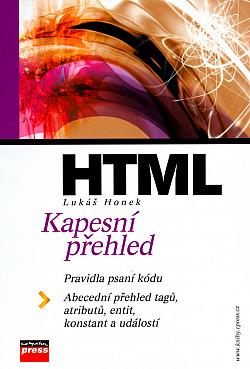 HTML - Kapesní přehled obálka knihy