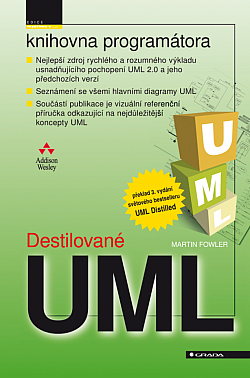 Destilované UML obálka knihy