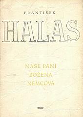 Naše paní Božena Němcová obálka knihy
