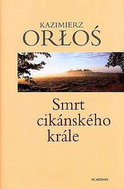 Smrt cikánského krále obálka knihy