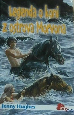 Legenda o koni z ostrova Morvona obálka knihy