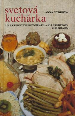 Svetová kuchárka obálka knihy