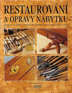 Restaurování a opravy nábytku obálka knihy