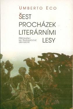 Šest procházek literárními lesy obálka knihy