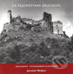 Zrúcaniny východného Slovenska obálka knihy