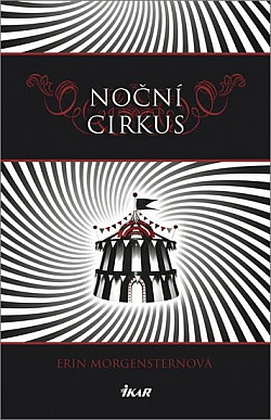 Noční cirkus obálka knihy