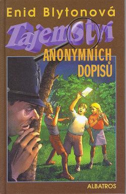 Tajemství anonymních dopisů obálka knihy