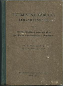 Pětimístné tabulky logaritmické