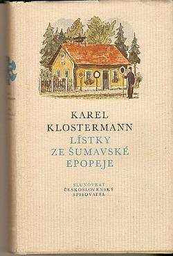Lístky ze šumavské epopeje obálka knihy
