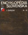 Encyklopédia Slovenska I. zväzok
