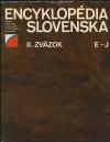 Encyklopédia Slovenska II. zväzok