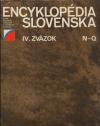 Encyklopédia Slovenska IV. zväzok