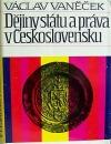 Dějiny státu a práva v Československu do roku 1945