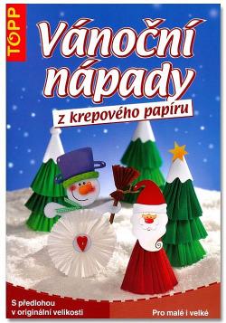 Vánoční nápady z krepového papíru
