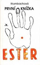 První knížka Ester obálka knihy