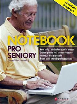 Notebook pro seniory obálka knihy