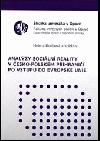 Analýzy sociální reality v česko-polském příhraničí po vstupu do Evropské unie