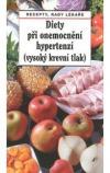 Diety při onemocnění hypertenzí (vysoký krevní tlak)