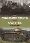 Panzerkampfwagen IV vs Char B1 bis - Francie 1940