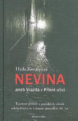 Nevina aneb Vražda v Příkré ulici obálka knihy